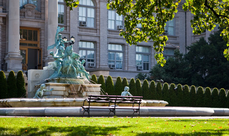 Fountains In New York City S Parks Nyc Parks