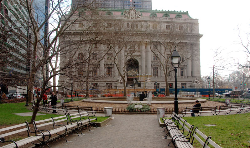 The Alexander Hamilton U S Custom House Is Located At South End Of Bowling Green Park Photo By Daniel Avila Nyc Parks