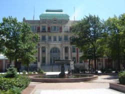 Queens County Court House and Court Square Park