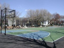 Basketball Court at College Point Park