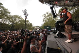 Public Enemy in Central Park