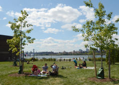 WNYC Transmitter Park Ribbon Cutting