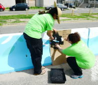 Rockaway Barrier Beautification Project