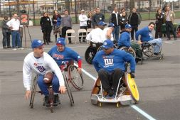 Wheelchair Football Comes to Parks