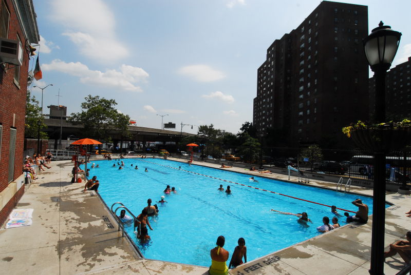 Asser Levy Playground Indoor Pools Nyc Parks