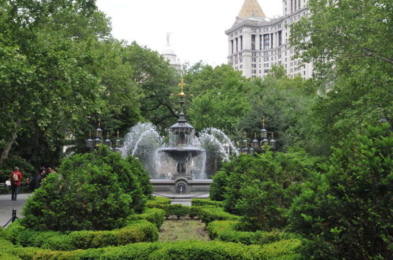 City Hall Park Nyc Parks