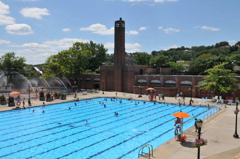 Lyons Pool Outdoor Pools Nyc Parks