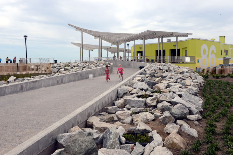 Rockaway Beach and Boardwalk Images : NYC Parks