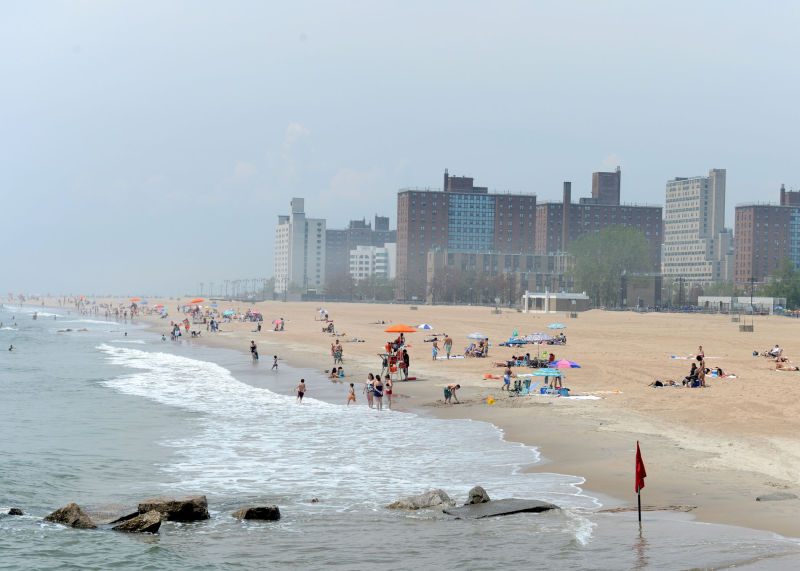 Coney Island Beach & Boardwalk : NYC Parks