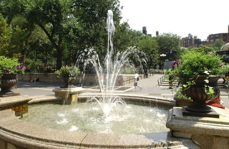 Image result for fountain union square ny