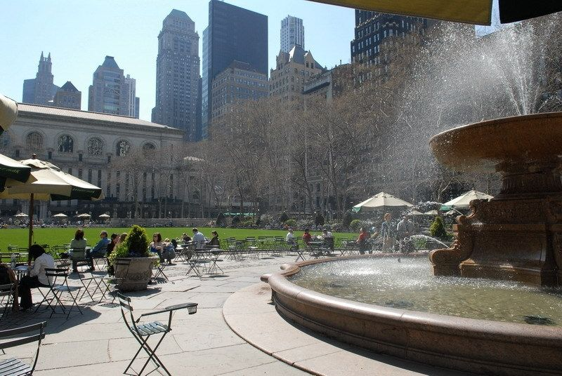 Bryant Park Events Nyc Parks