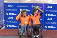 Australia's Kurt Fearnley & Switzerland's Edith Hunkeler