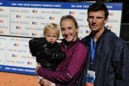 Paula Radcliffe and family