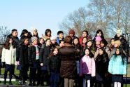 PS 102 Choir gives a musical performance