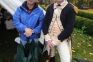 Commissioner Adrian Benepe chats with George Washington