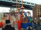 Brooklyn Bridge Park playground