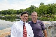 Crotona Park Indian Lake and Amphitheater Ribbon Cutting