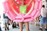 One of the balloon costumes by Jason Hackenwerth