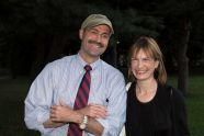Doug Blonsky and Patricia Harris