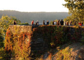 Sunset at Fort Tryon Park