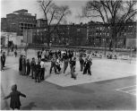 Boys Basketball, Mount Morris Square, Manhattan