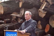 Mayor Bloomberg at the JP Morgan Chase Donation Announcement