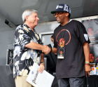 Marty Markowitz and Spike Lee