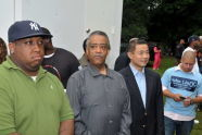 Reverend Al Sharpton and John Liu
