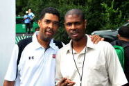 Keith Clinkscales and friend