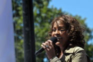 Whitney Houston live on Good Morning America