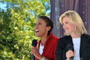 Robin Roberts and Diane Sawyer
