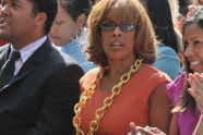 Gayle King in the audience