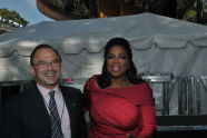 Commissioner Adrian Benepe and Oprah
