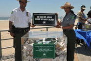 Urban Park Rangers at the Rockaway Beach Opening