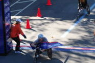 2010 ING NYC Marathon - Wheelchair Division