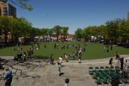 J.J. Byrne Playground's Synthetic Turf Field