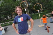 Quidditch Demonstration at BeFitNYC Fitness Festival