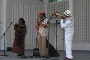 Trombonist Craig Harris and band perform at The Richard Rodgers Amphitheater