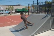 Skating at Robert Venable Park