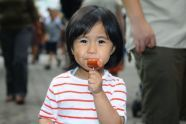 A Satisfied Customer at Taste of Parks 2011