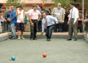 Bocce at Ciccarone Playground