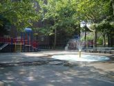 Abraham Lincoln Playground Spray Showers