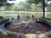 Seating Area at Bowne Lake