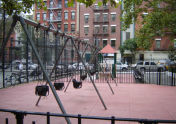Augustus St. Gaudens Playground Swings