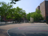 Blake Hobbs Playground Basketball and Handball Courts
