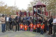 Ribbon Cutting at Montbellier Park