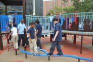 Lillian Wald Playground Ribbon Cutting