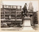 Lafayette Sculpture and S Klein's, Union Square, Manhattan, 1936
