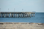 Storm Damage at Steeplechase Pier