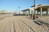 Storm Damage at Coney Island